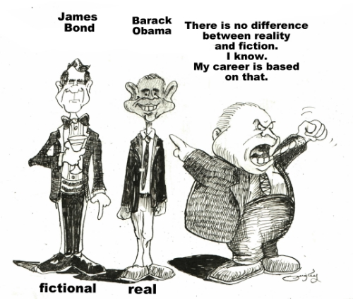 Reality And Fiction Are The Same To Rush Quigley S Cartoons